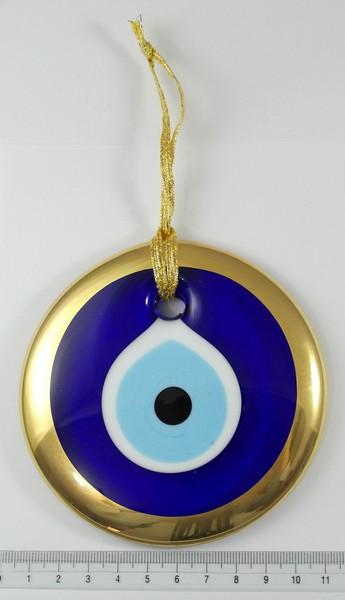 Traditional Evil Eye Gold Trim